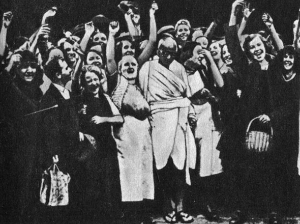 gandhi and his campaign for civil